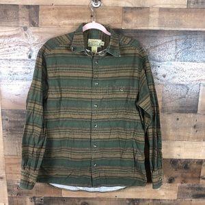 Cabelas deerskin chamois Button Up Shirt